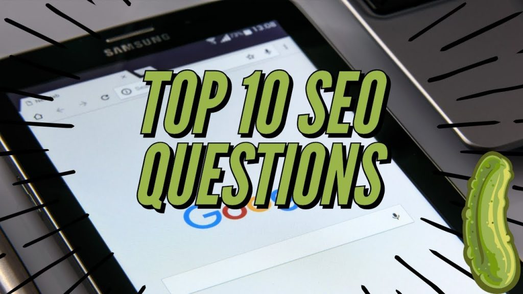 Top 10 SEO Questions